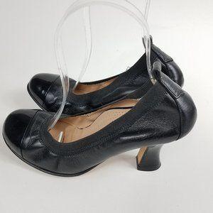 ANYI Lu Size 37 Paige Ballet Heels Cap Toe Round